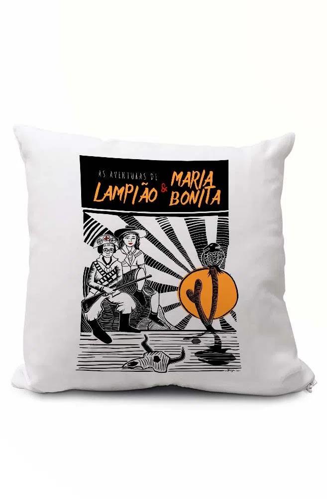 Almofadinha O Amor em Cordel: Lampião e Maria Bonita