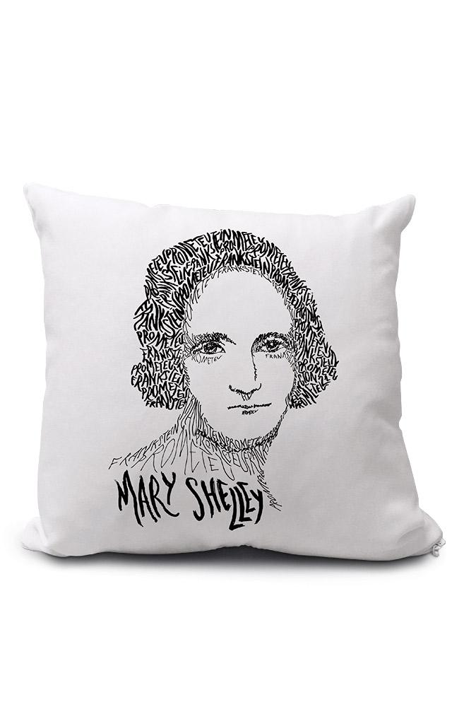Almofadinha Rostos Letrados: Mary Shelley