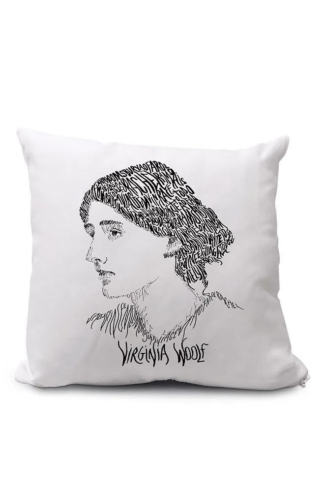 Almofadinha Rostos Letrados: Virginia Woolf