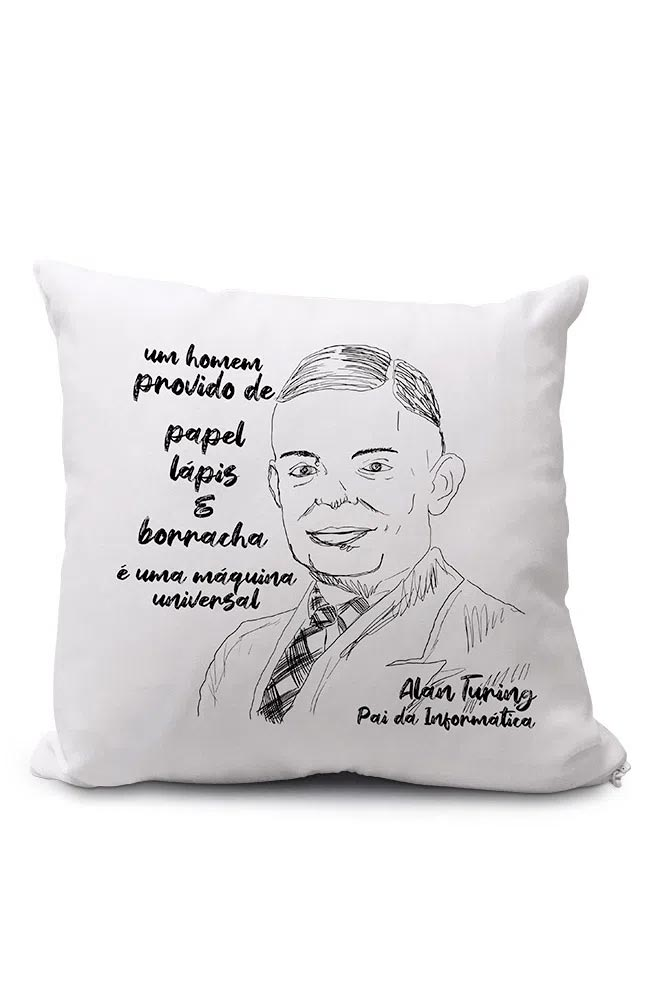 Almofadinha Turing, pai da informática