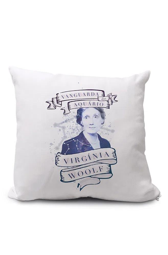 Almofadinha Virginia Woolf: A Vanguarda de Aquário
