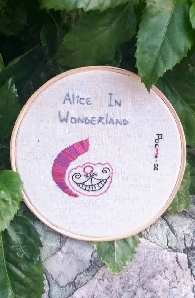 Bastidor Alice in Wonderland