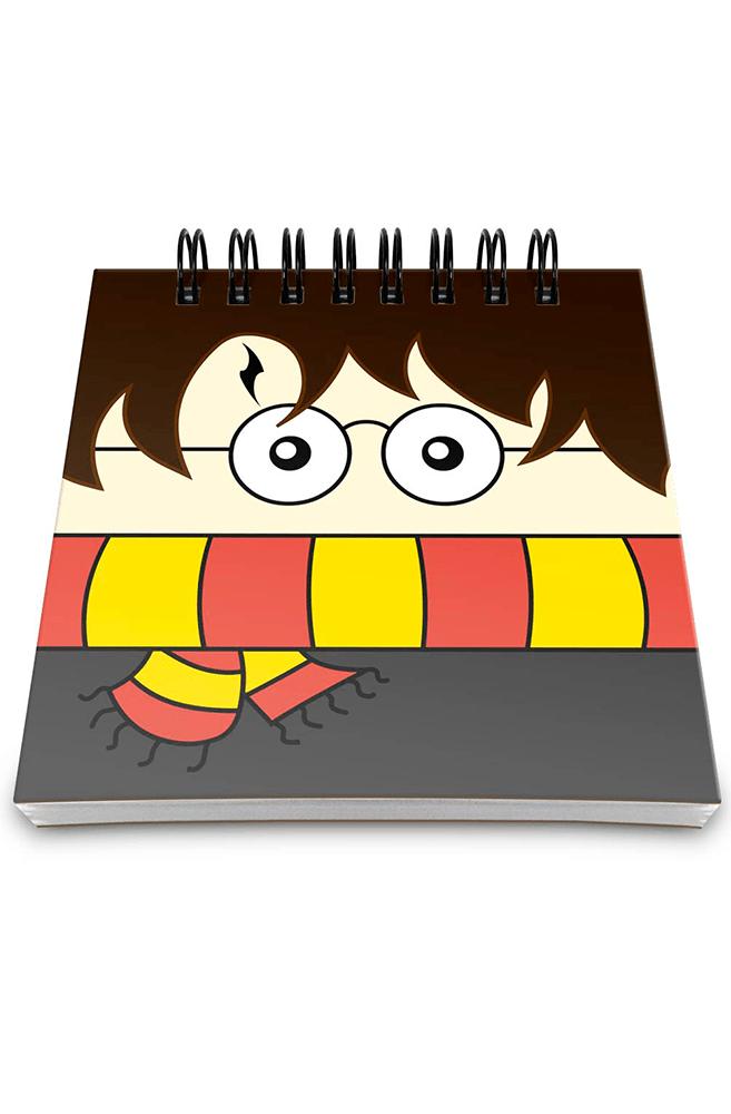 Bloco de notas Harry Potter