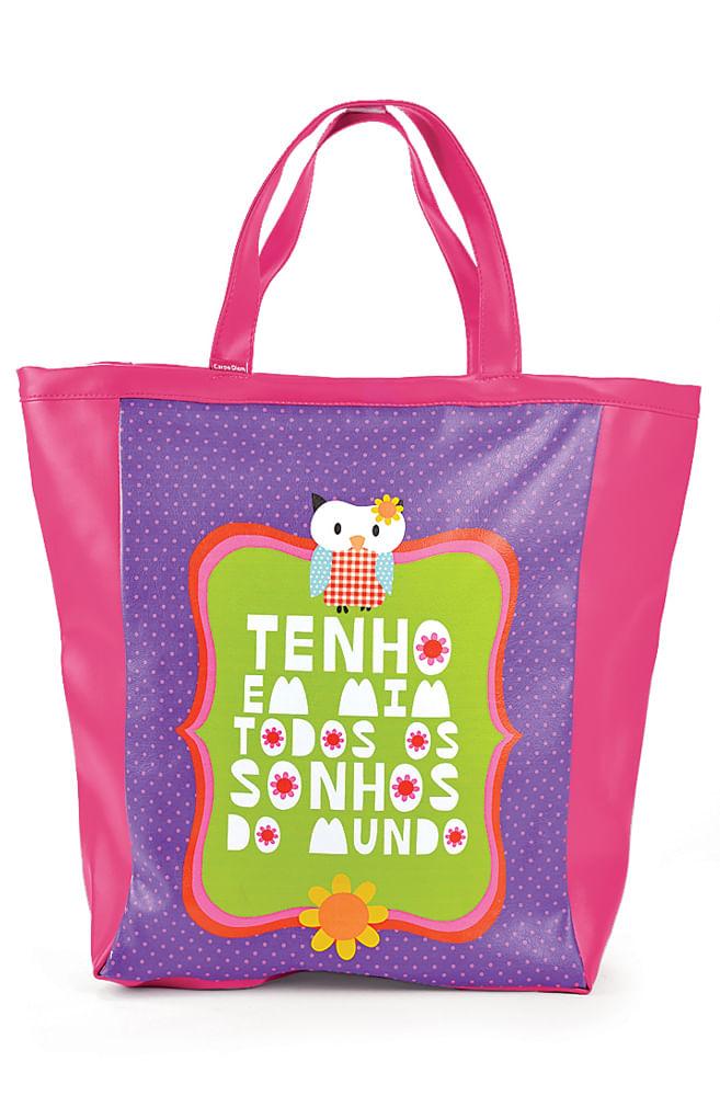Bolsa de couro Fernando Pessoa
