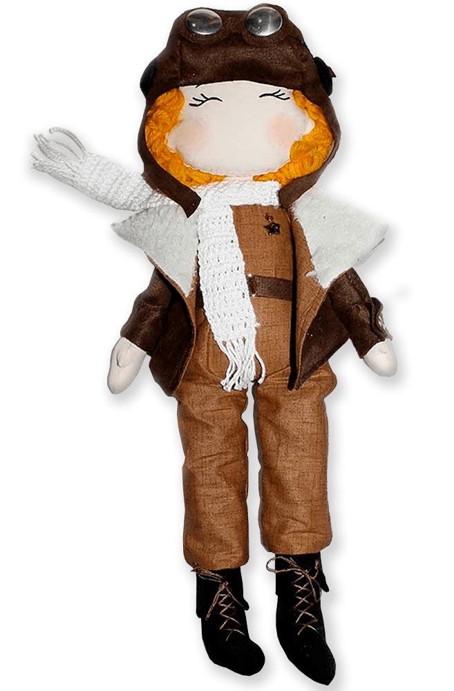 Boneco Pequeno Príncipe Aviador