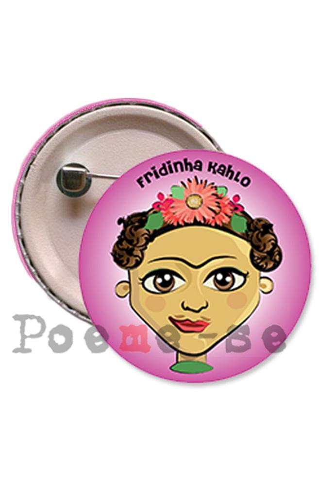 Boton Fridinha Kahlo