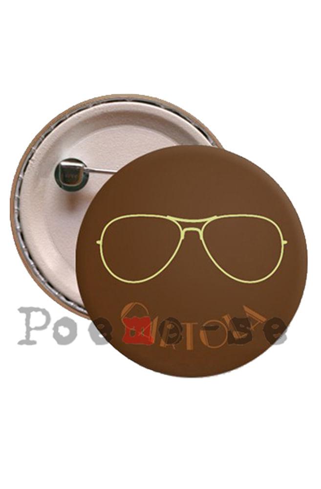 Boton Óculos Cartola