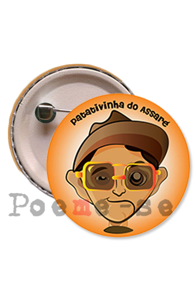 Boton Patativinha do Assaré