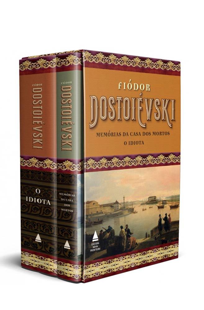 Box Fiódor Dostoiévski - Memórias