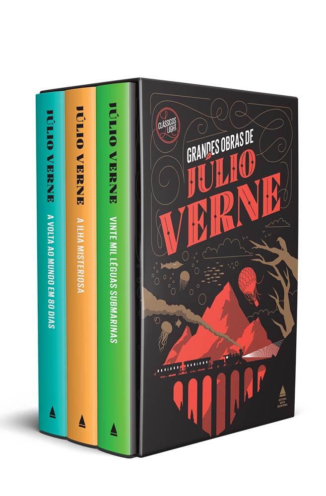 Box Grandes obras de Júlio Verne