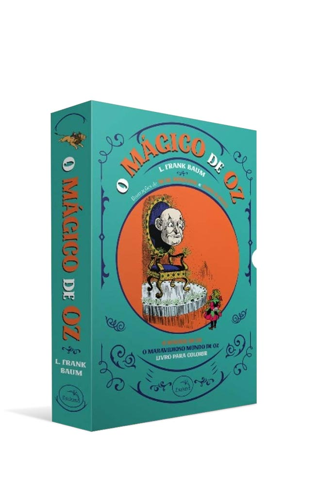 Box O Mágico De Oz - 3 volumes