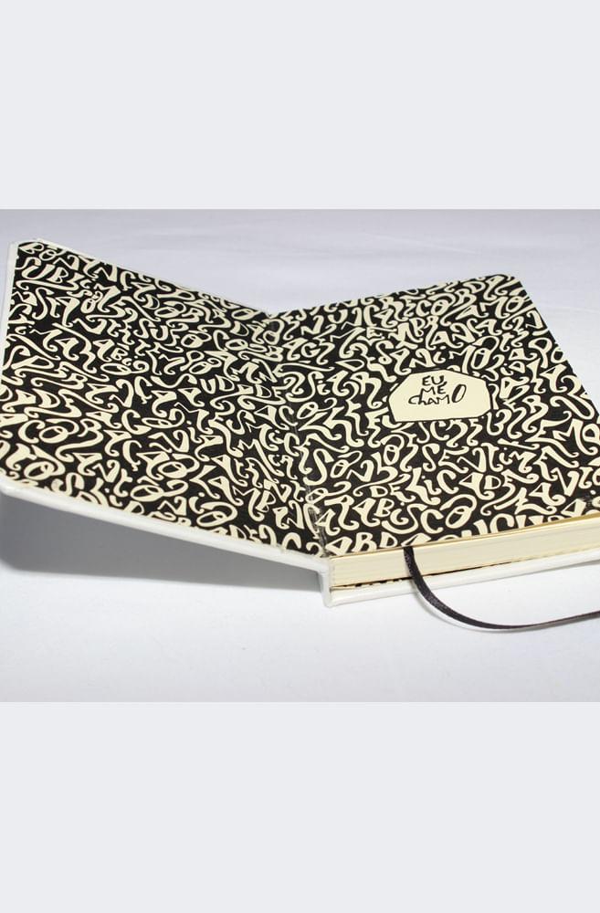Caderneta Eu Me Chamo Antônio CREME