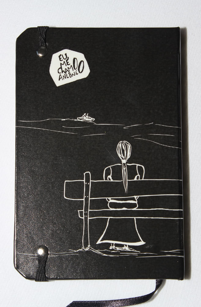 Caderneta Eu Me Chamo Antônio PRETA
