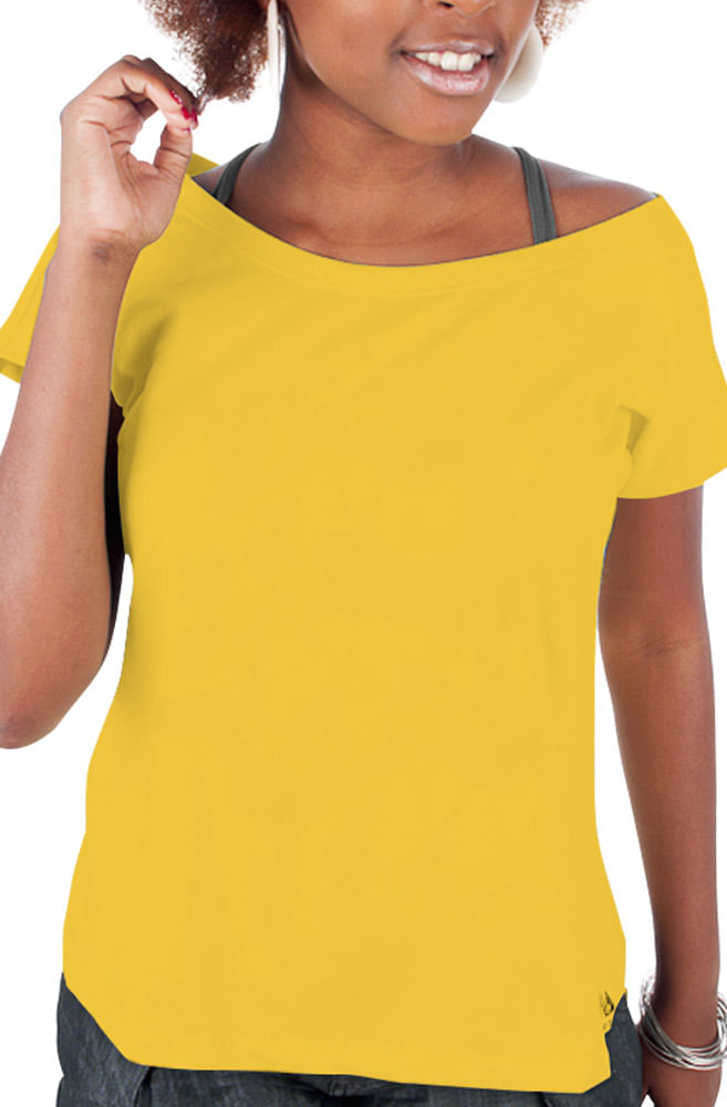 Camiseta Amarela Básica