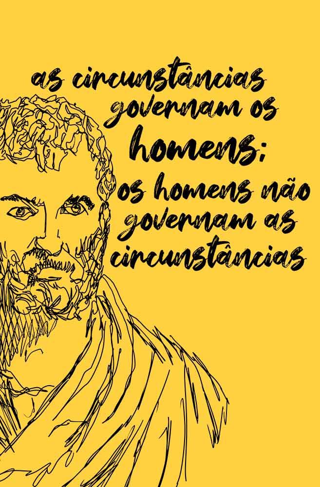 Camiseta Amarela Heródoto, pai da história