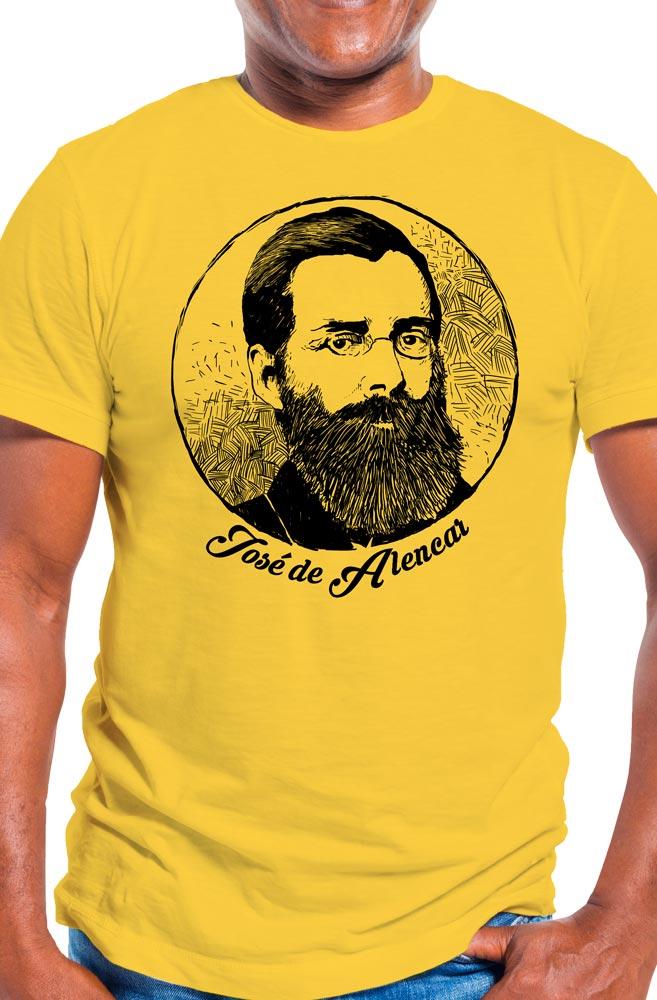 Camiseta Amarela  José de Alencar