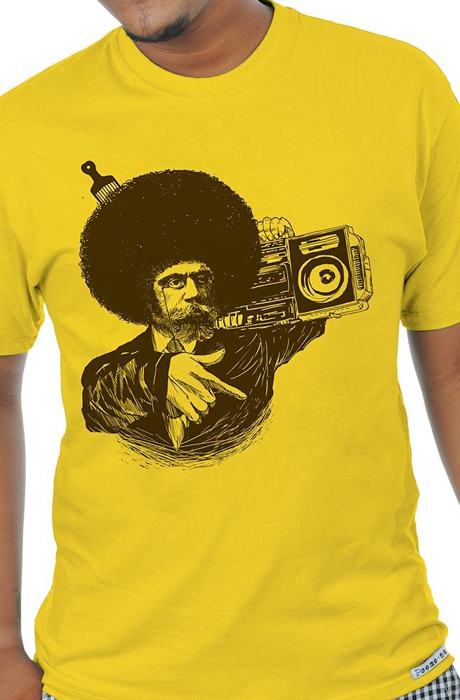 Camiseta Amarela Machado Black Power