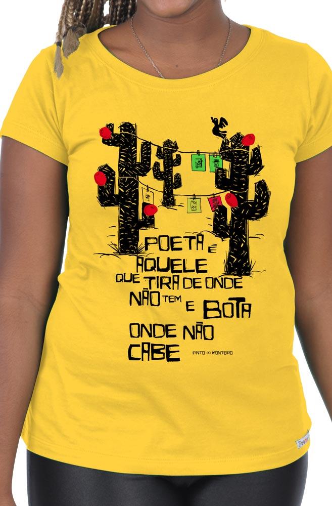 Camiseta Amarela Pinto do Monteiro