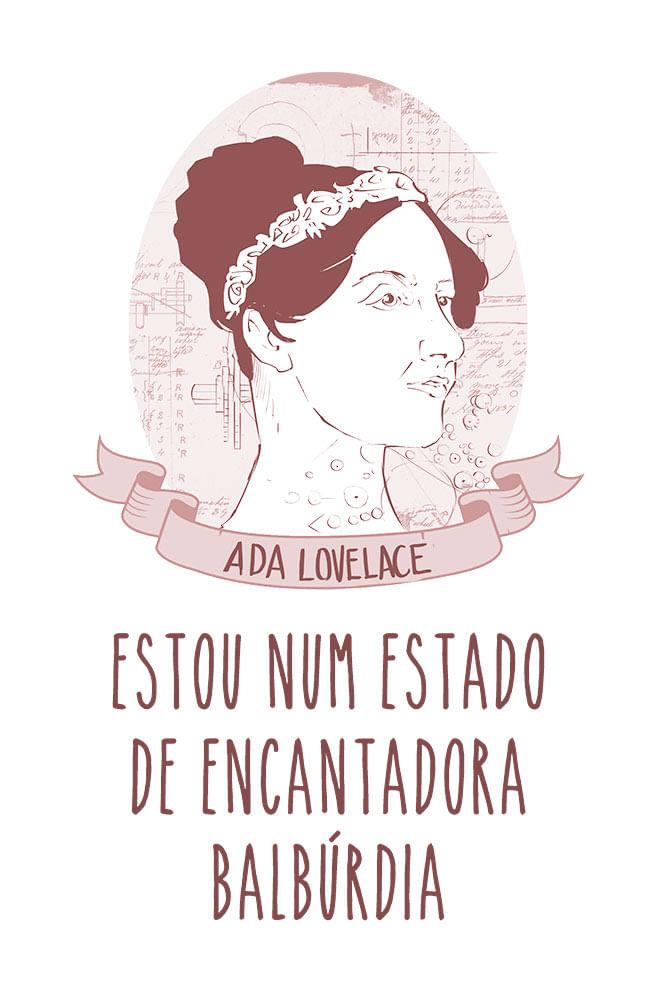 Camiseta Branca Ada Lovelace