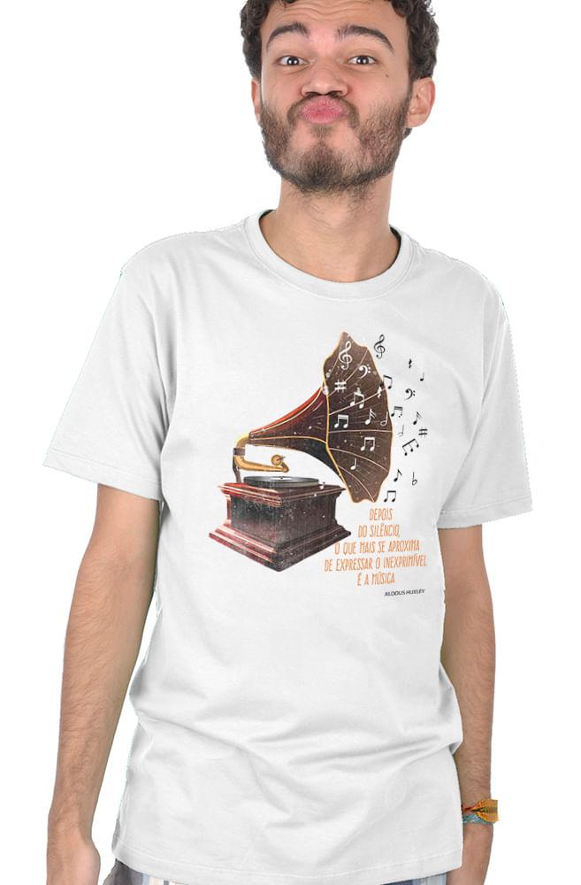 Camiseta Branca Aldous Huxley
