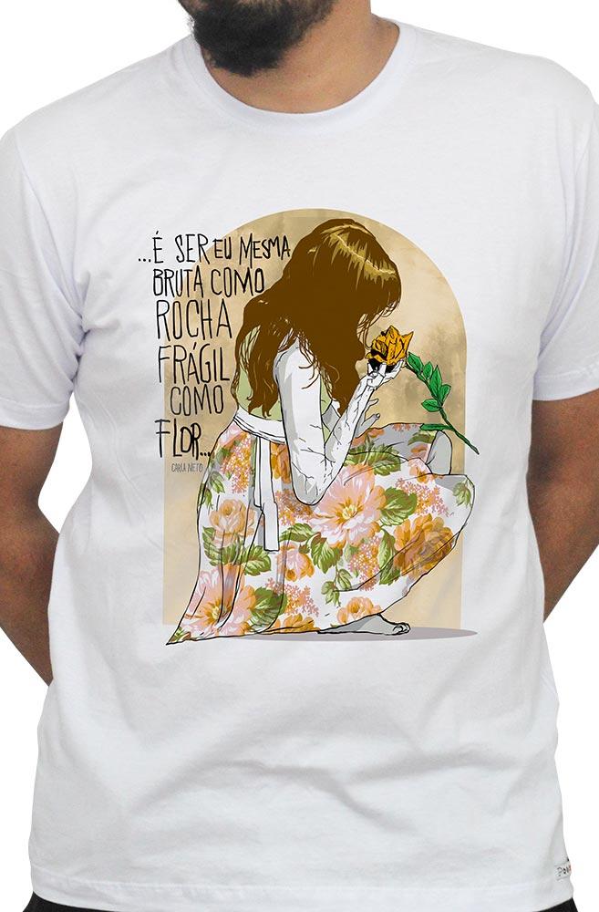 Camiseta Branca Carla Neto