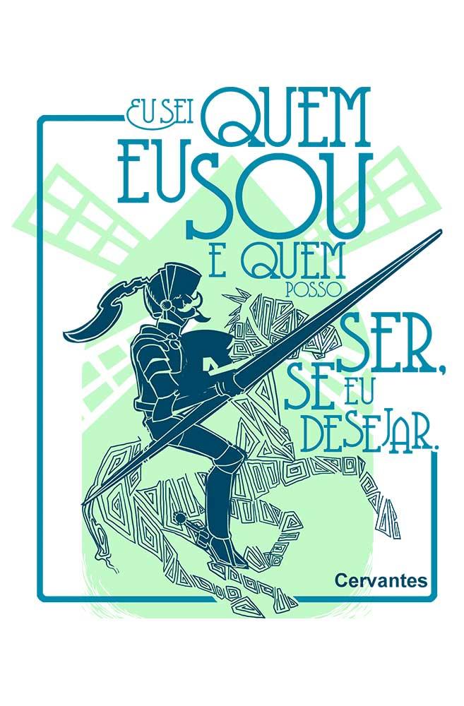Camiseta Branca Cervantes