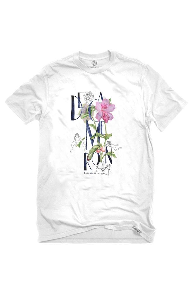 Camiseta Branca Decameron