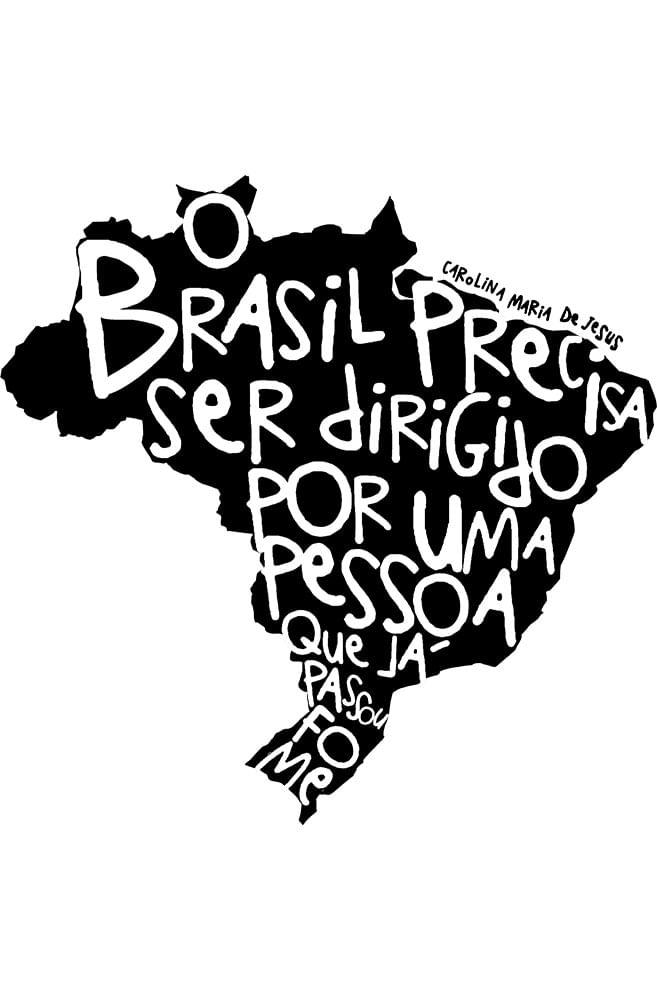 Camiseta Branca Fome de Brasil