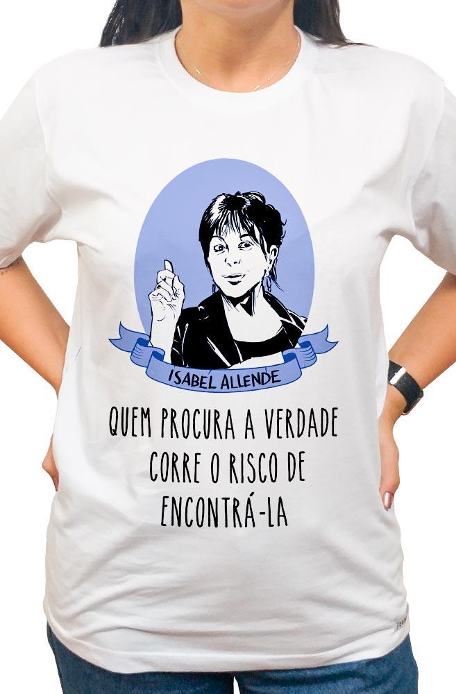 Camiseta Branca Isabel Allende
