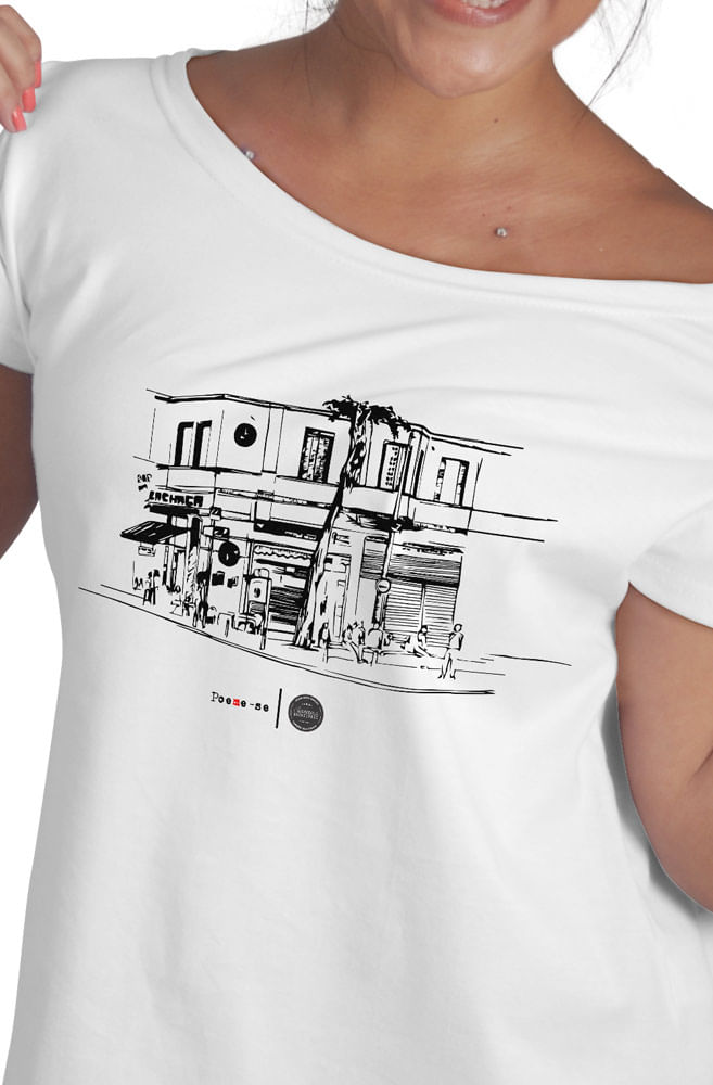 Camiseta Branca Nosso Escritório