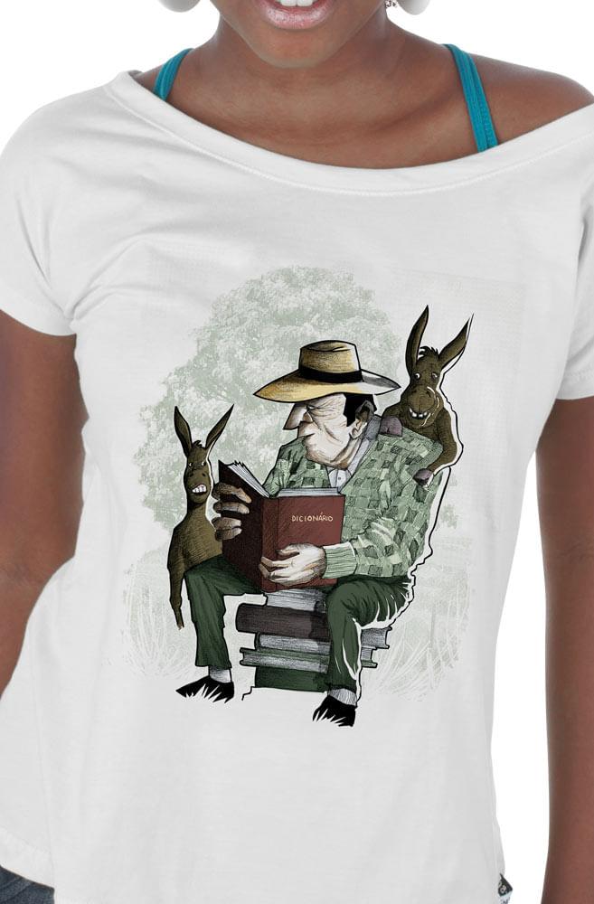 Camiseta Branca O Grande Pai