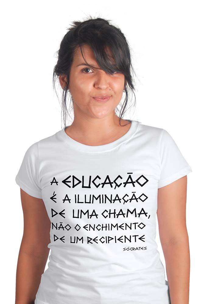 Camiseta Branca Sócrates