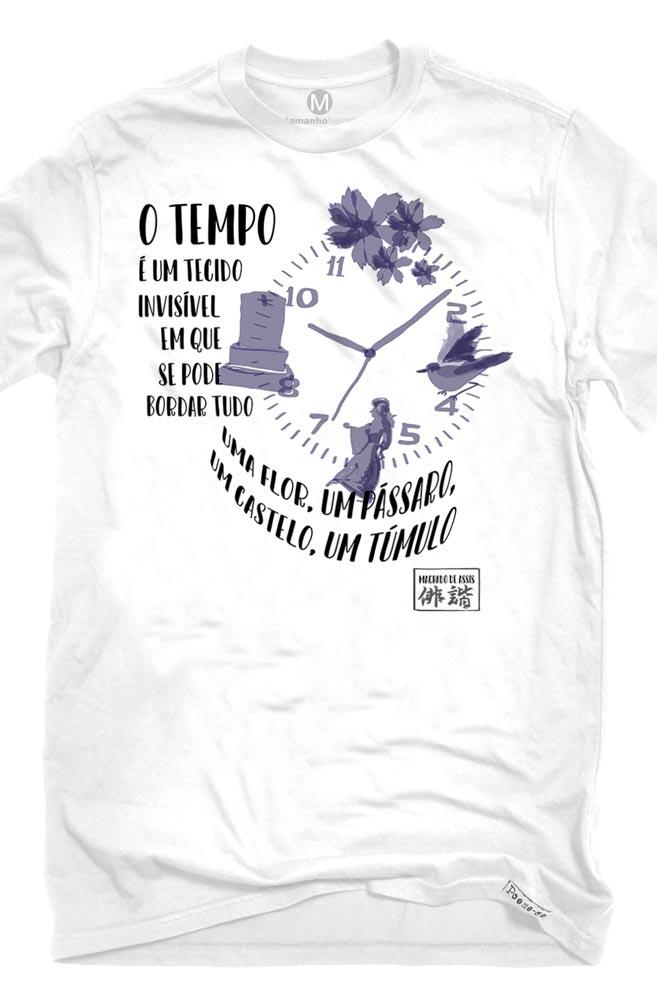 Camiseta Branca Sumi-ê: Machado de Assis