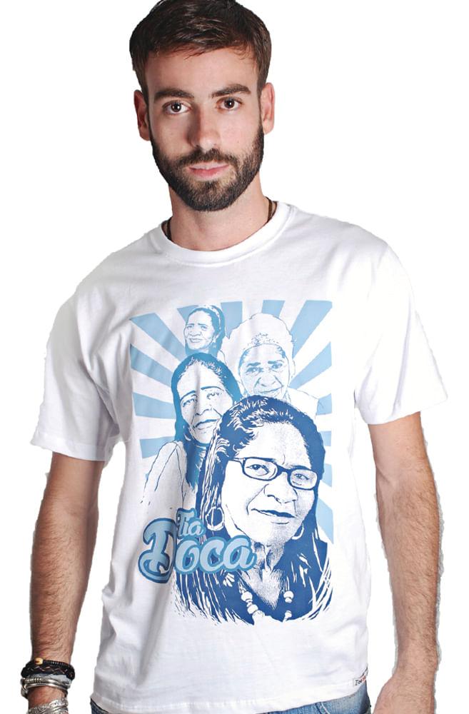 Camiseta Branca Tia Doca