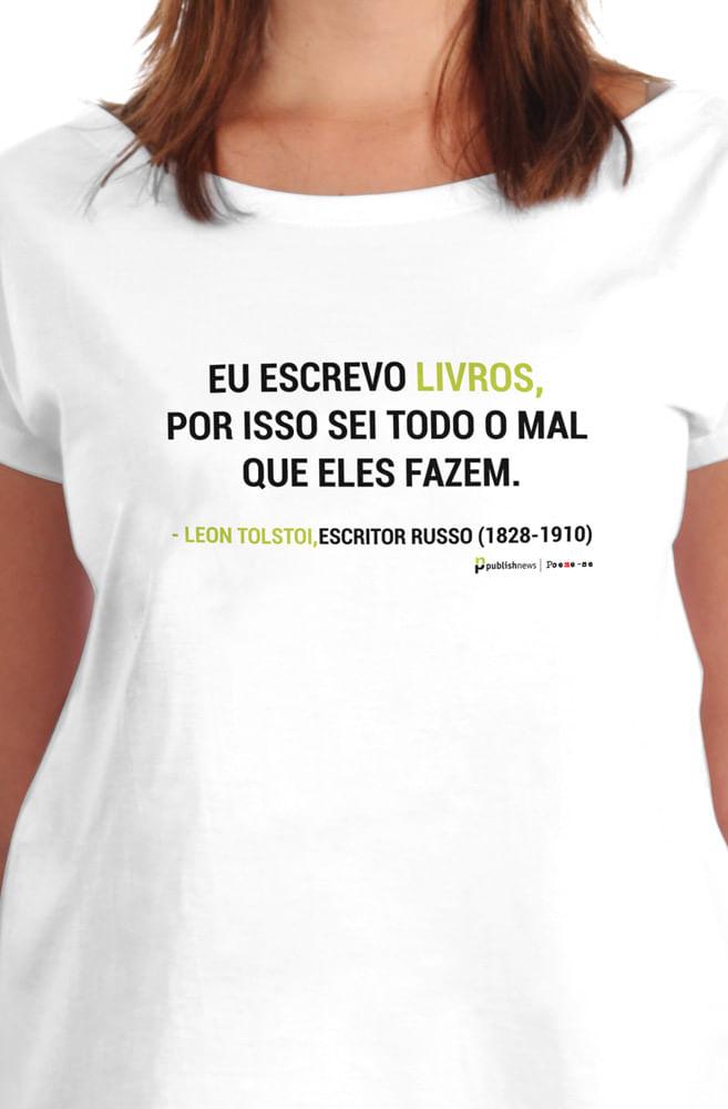 Camiseta Branca Tolstoi