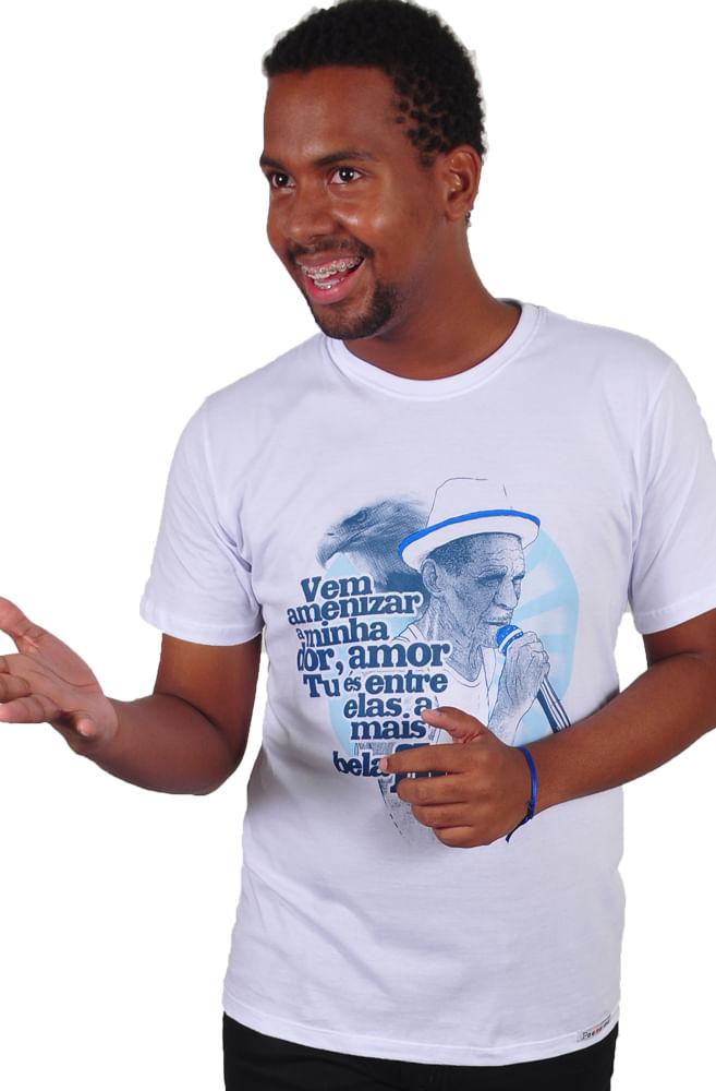 Camiseta Branca Waldir 59