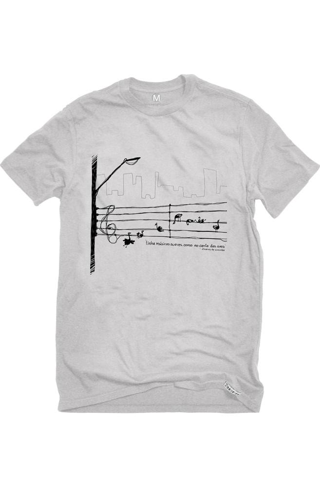 Camiseta Cinza Álvares de Azevedo