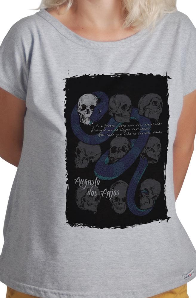 Camiseta Cinza Augusto dos Anjos