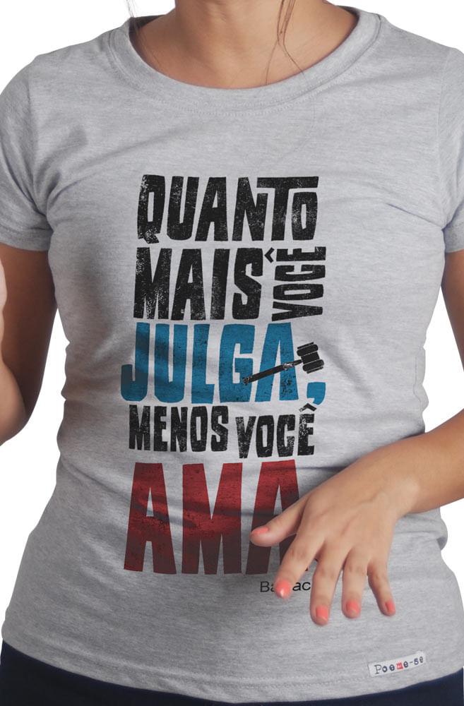 Camiseta Cinza Balzac