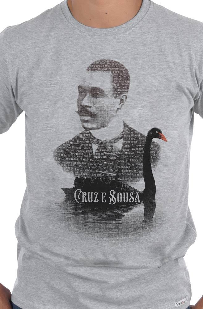 Camiseta Cinza Cisne Negro