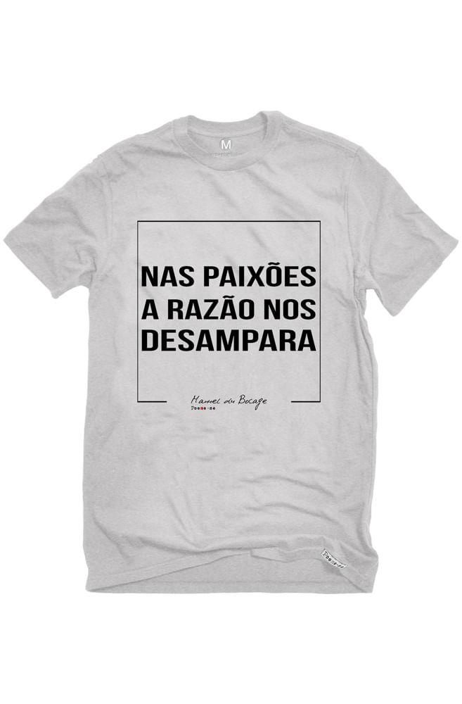 Camiseta Cinza Desamparo