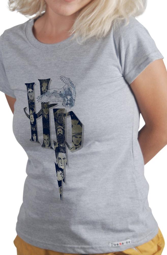 Camiseta Cinza O fantástico Harry Potter