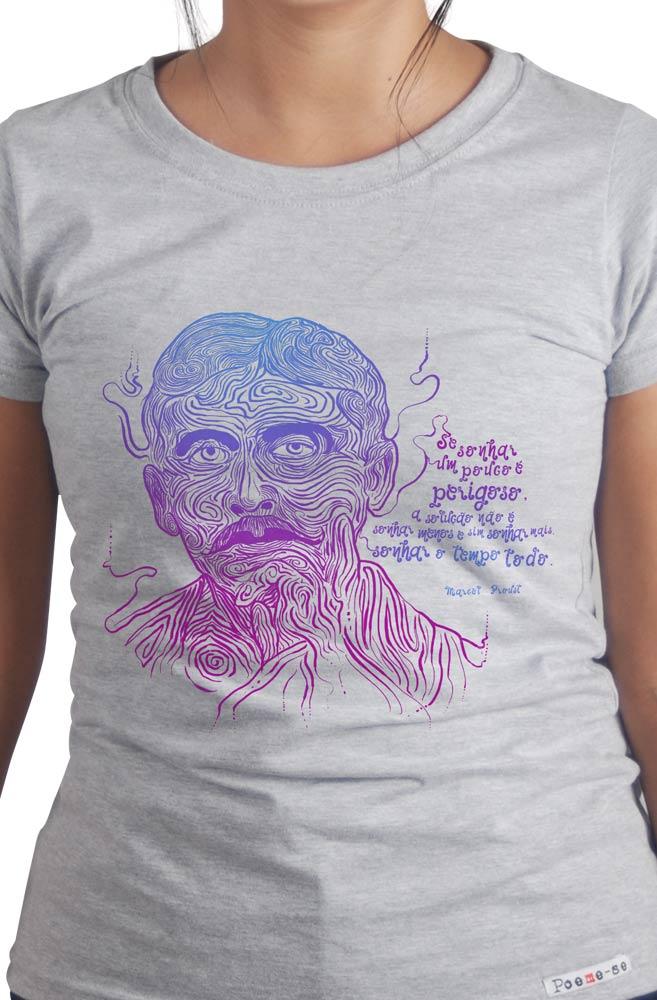 Camiseta Cinza Proust