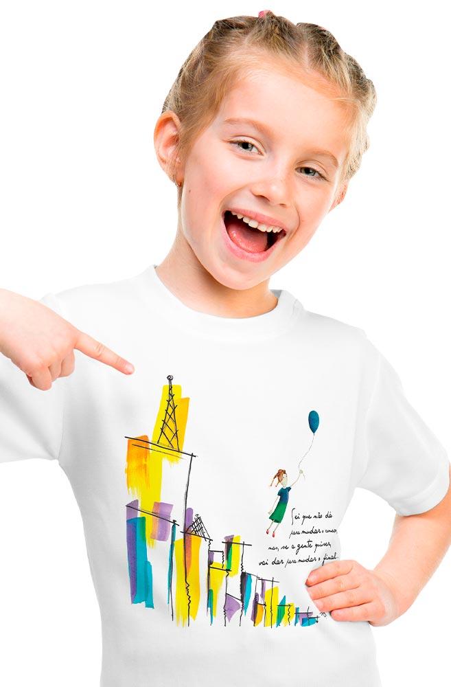 Camiseta Infantil Elisa Lucinda