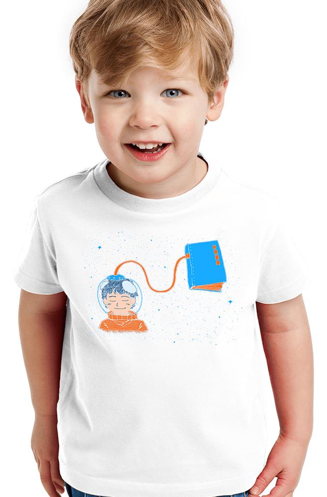 Camiseta Infantil Livro Meu Oxigênio