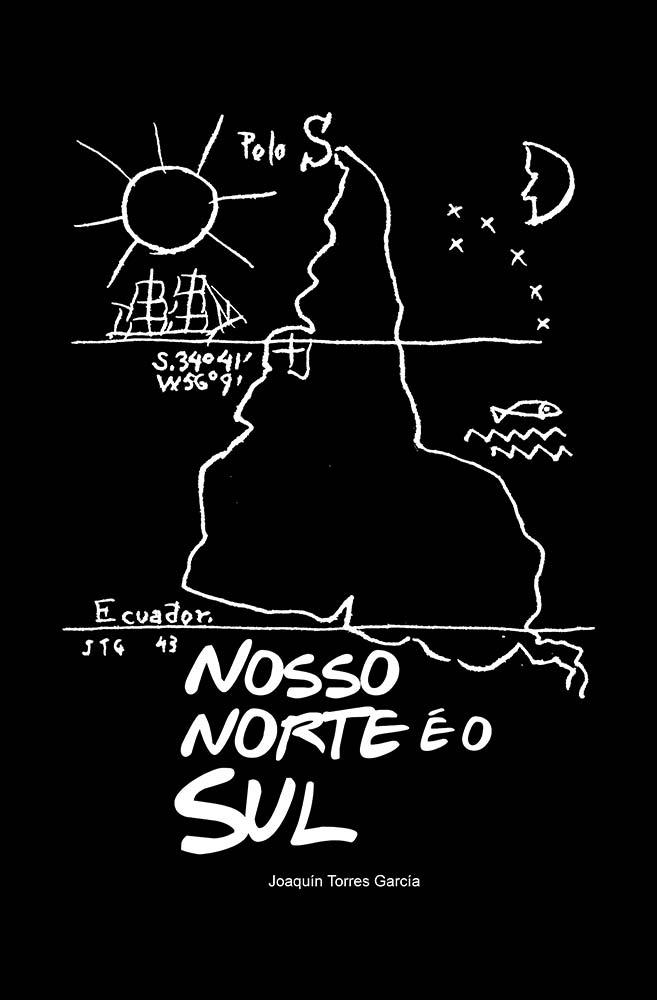 Camiseta Preta Nosso Norte é o Sul