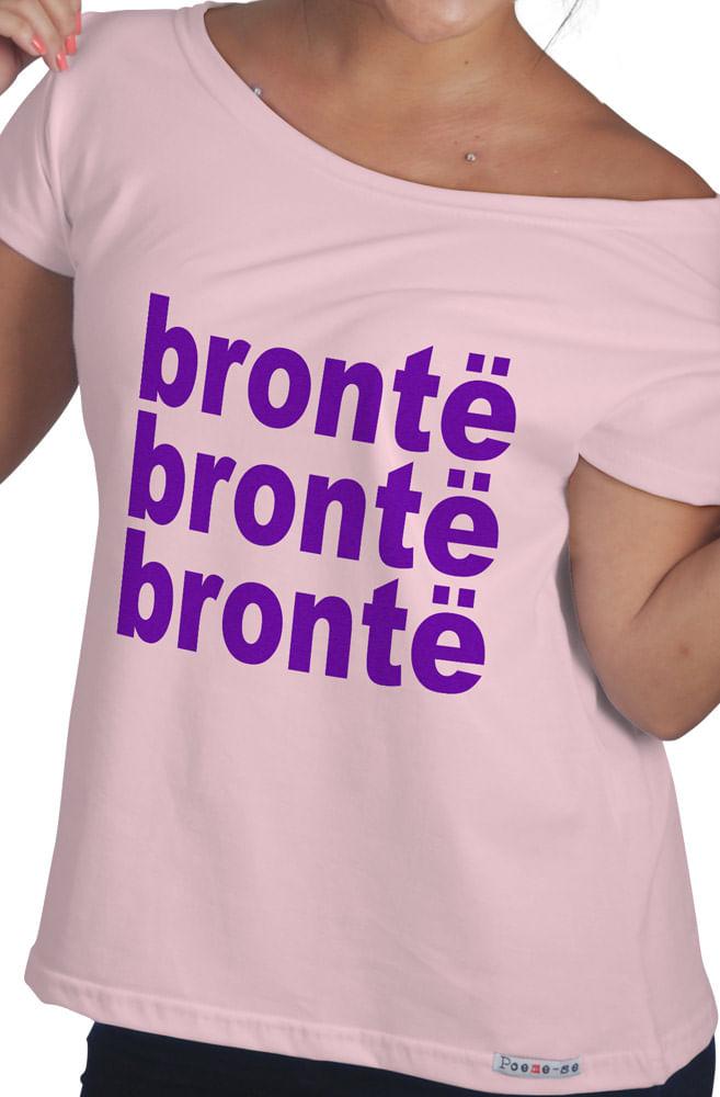 Camiseta Rosa Brontë