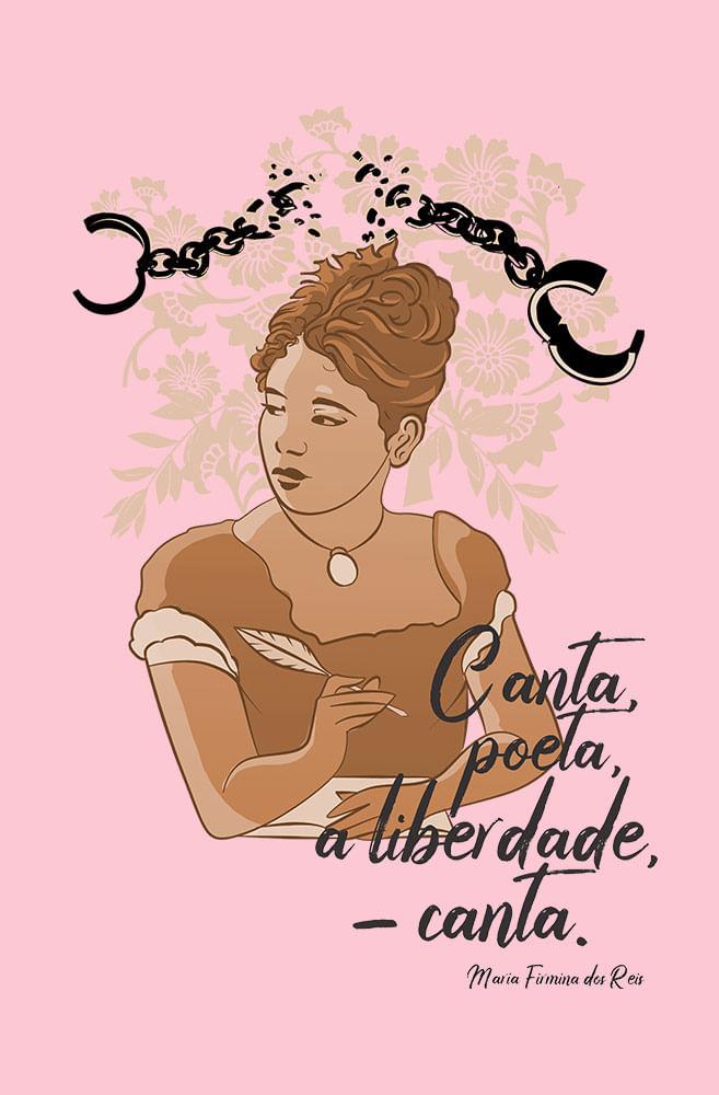 Camiseta Rosa Canta Poeta