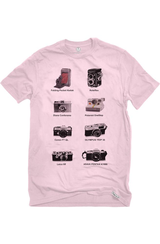 Camiseta Rosa Fotográficas (Di)Versas