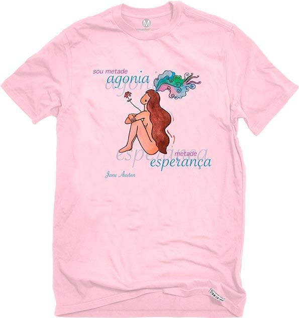 Camiseta Rosa Metades de Austen